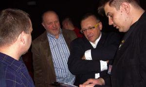 Jurek Owsiak, Jurek Taborowski, Jacek Stachera
