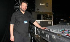 Kevin Allen - monitor sound engineer