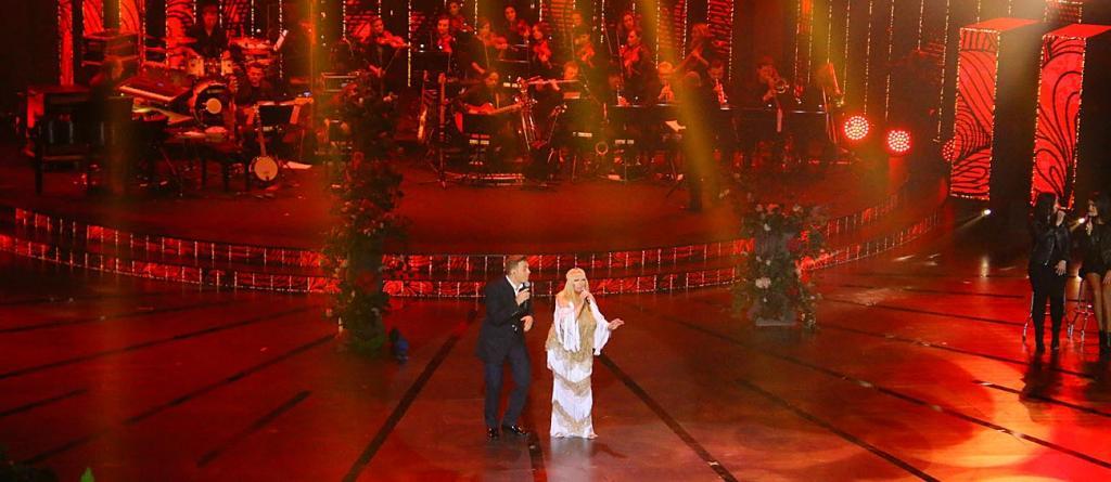 Maryla Rodowicz i Andrzej Lampert