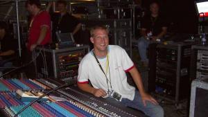 Matt Herr - sound engineer of Elton John
