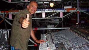 Levi Tecofsky  - front sound engineer Mel C