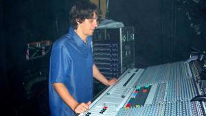 Chris Roberts - monitor sound engineer Mel C