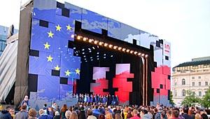 Chórem za Europą