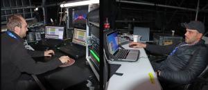 107  Marcin Kosmowski - playback rack realizator, Marcin Szafranski - szef techniczny