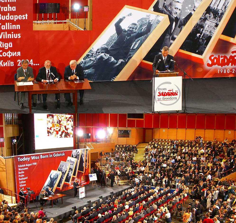Od Solidarności do Wolności Filharmonia Bałtycka Gdańsk 2005