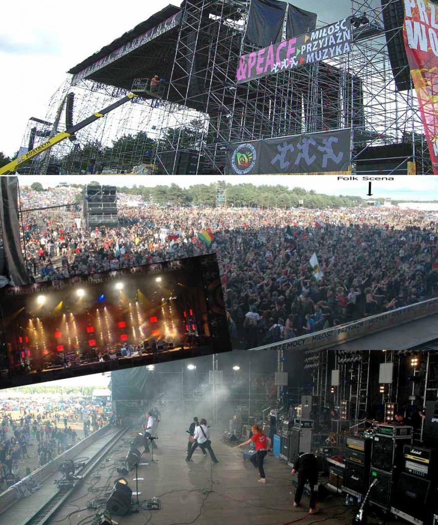 Przystanek Woodstock Duża Scena-500.000 widzów Kostrzyn 2005