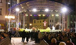 Msza żałobna Wrocław 2005