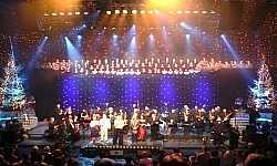 Koncert Wigilijny dla żołnierzy w Iraku Filharmonia Bałtycka Gdańsk 2004