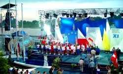 Otwarcie Olimpiady Polonijnej Poznań - Malta 2003