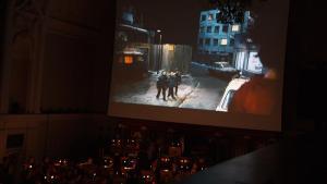 Projekcja filmu