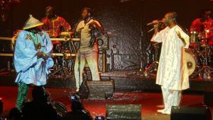 Youssou N`Dour  & Tcheka    WARSZAWA 2009
