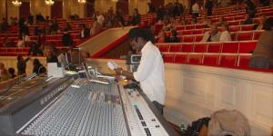 Youssou N`Dour concert - sound engineer Ralph M`Fah-Traore - Skrzyżowanie Kultur 2009