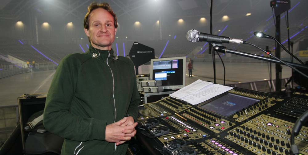 06. Monitor sound engineer of A-HA  - Duncan Wild