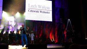 Pawel Kukiz - Koncert - Lech Wałęsa Człowiek Wolności
