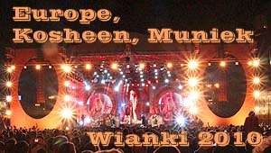 EUROPE, Kosheen, Muniek - WIANKI  2010