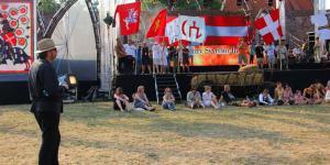 Banderia 1410 - Malbork - próba reżyser - Roman Kołakowski