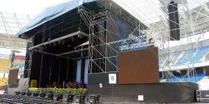 Koncert : Jose Carreras Toruń  - przygotowania