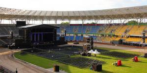 Koncert : Jose Carreras Torun Motoarena - przygotowania