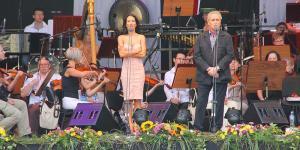 Jose Carreras i Justyna Steczkowska - próba
