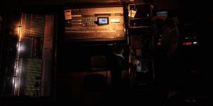 Koncert Jose Carreras Torun Motoarena - stanowisko realiaztora