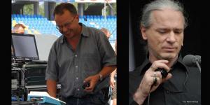 sound engineer of Jose Carreras -  Peter Schneekloth and technical  manager - Paul Brantner  in Toruń