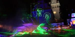11 Pokaz laserowy KORON KORONA