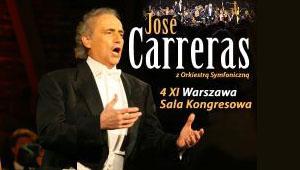 Jose Carreras Sala Kongresowa Warszawa