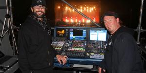 33 Rob Viator - Sound Engineer and  John Santos - Lighting Designer of Paul Rodgers
