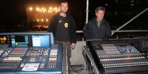 34 FOH Kuba Mikolajczak i Andrzej Sterna  - Sound Engineers