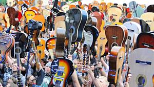 Gitarowy rekord Guinnessa 2014