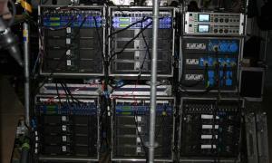 Racki mocy systemu monitorowego - Sopot Festival 2007