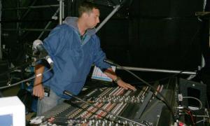 Paweł Golinski - monitor realizator - Sopot Festival 2007