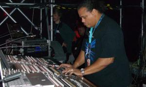 Foh engineer - Kool & The Gang